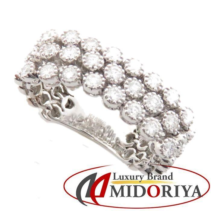 ダイヤモンドリング K18WG ダイヤモンド1.50ct 12.5号 18金ホワイトゴールド 指輪 レディース ジュエリー /64017 【中古】