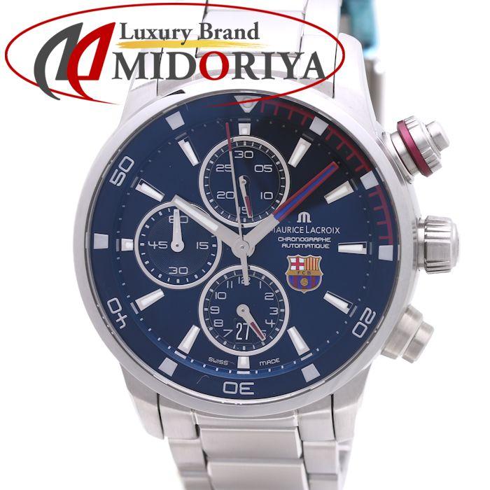 モーリスラクロア ポントスS FCバルセロナ 替えベルト付き メンズ PT6008-SS002-431 /37013 【中古】【オーバーホール済み】 腕時計