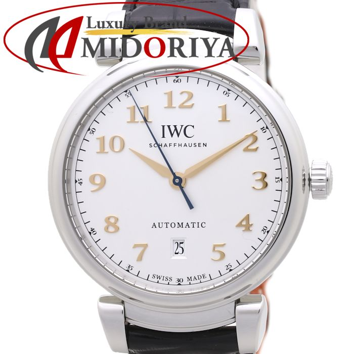 IWC IW356601 ダ・ヴィンチ オートマティック メンズ 自動巻き レザー /37107 【中古】 腕時計