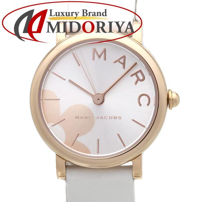 マークジェイコブス MARC JACOBS MJ1620 クラシック レディース ホワイトレザー /37143 【未使用】 腕時計