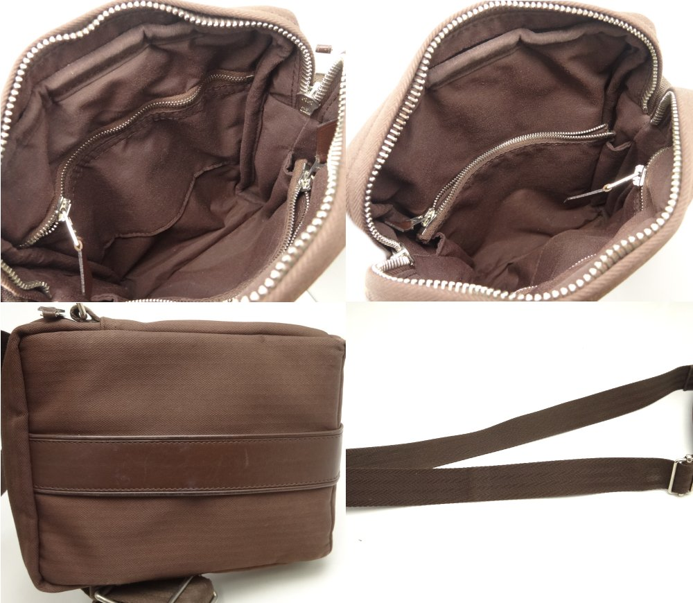 Hermes Acapulco Pochette Dark Brown Crossbody/51642