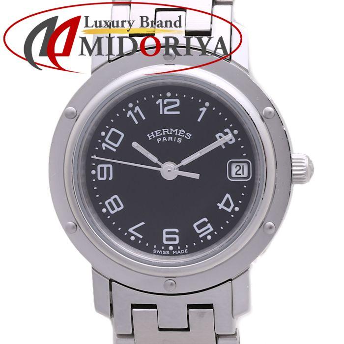 エルメス HERMES クリッパー CL4.210.230/3820 レディース 旧型 /37217 【中古】 腕時計
