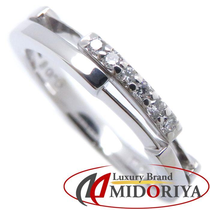 最短当日発送 激安 激安特価 送料無料 クレジットカード可 ショッピングローン可 スタージュエリー STAR JEWELRY ダイヤモンドリング 中古 ホワイトゴールド いよいよ人気ブランド 指輪 ダイヤモンド0.06ct 094579 9.5号 K18WG