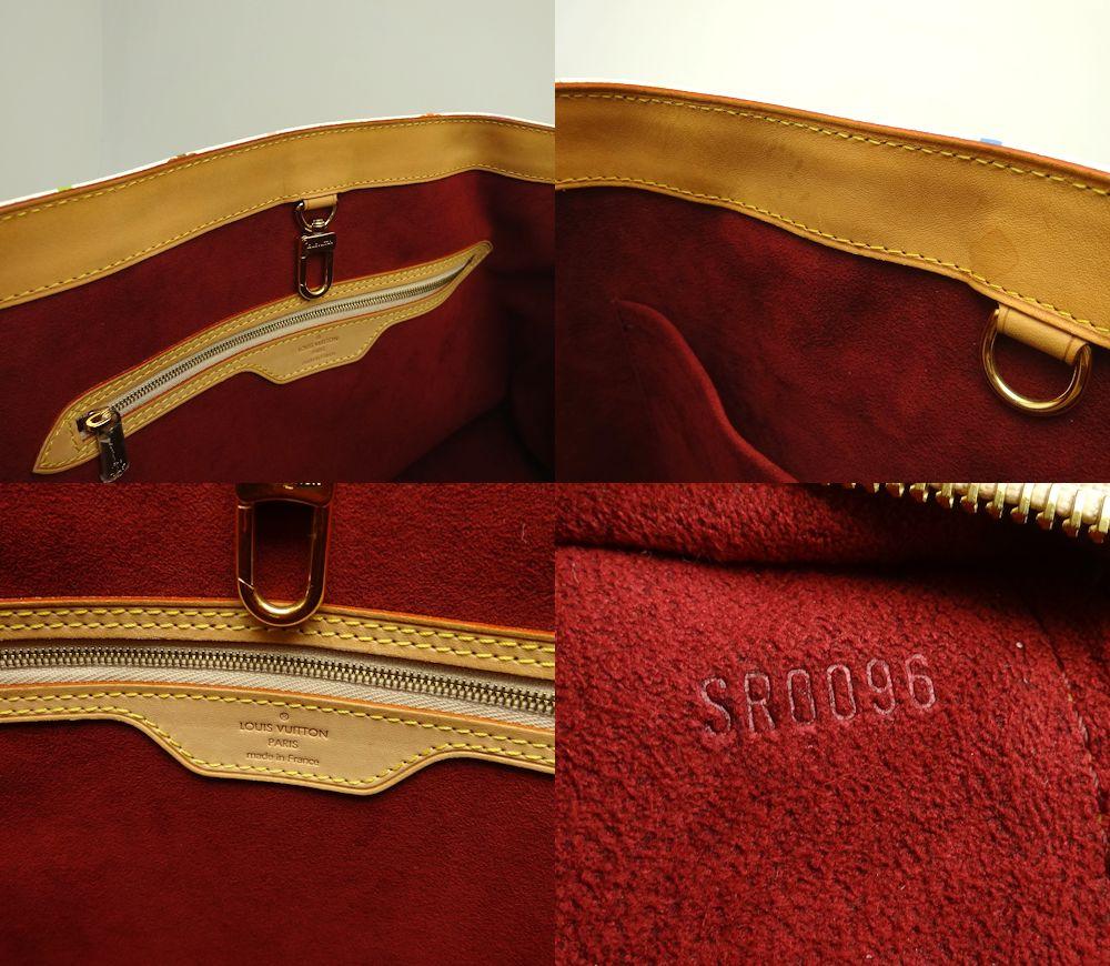 Louis Vuitton Vuitton shoulder bag multicolored Aurelia GM M40100/19853 Bronn white Louis Vuitton LOUIS VUITTON Vuitton bag