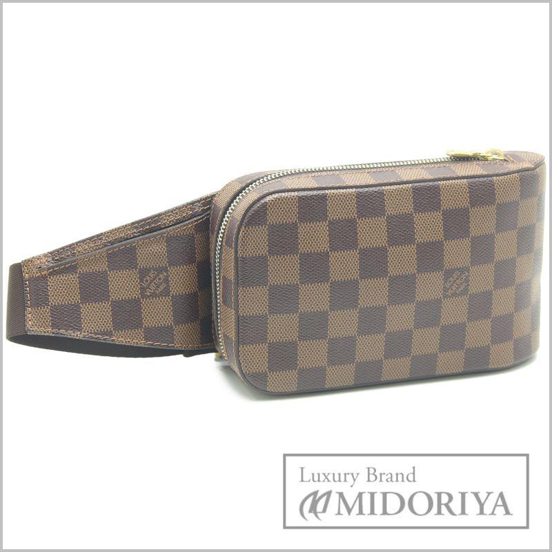 Pawn shop MIDORIYA PHASE  LOUIS VUITTON Men s Damier Ebene Geronimos ... be3324a2169d2