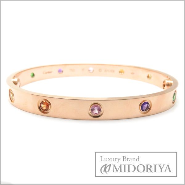 39156ce9b Cartier Love Bracelet Multi Color Stones Photos. Cartier Love Bracelet  Yellow Gold With Diamonds ...