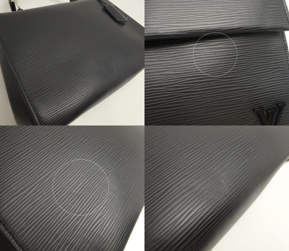 路易 · 威登威登 2 方式袋未使用的 EPI 皮革 Cluny BB M41312/15312 Noir 黑黑黑路易 · 威登路易 · 威登 vitombagg