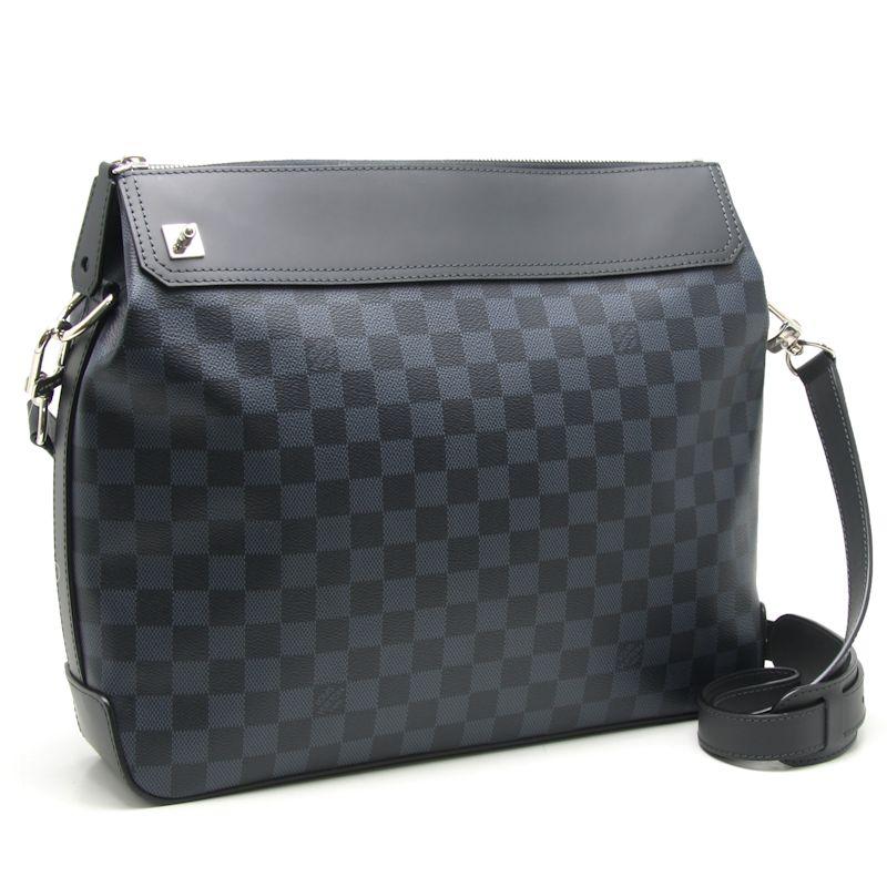 Authentic LOUIS VUITTON Damier Cobalt Messenger Greenwich Shoulder Bag N41348 /18642