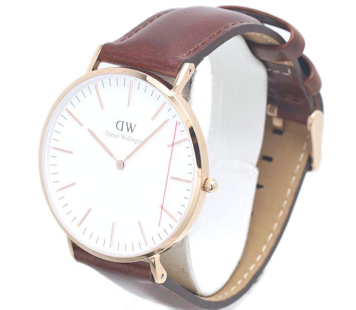 Daniel Wellington ☆ unused Daniel Wellington classical music B40R7 men quartz /34224 watch