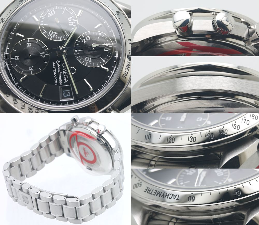 奥米伽OMEGA速度主人日期3513.50钓樟属盘人自动卷/3万4242手表
