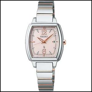 新品 即日発送 セイコー ルキア ソーラー 電波 時計 レディース 腕時計 SSVW057