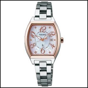 セイコー ルキア ソーラー 時計 レディース 腕時計 SSVN026