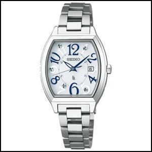 セイコー ルキア ソーラー 電波 時計 レディース 腕時計 SSVW091