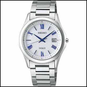 SEIKO セイコー ドルチェ ソーラー 時計 メンズ 腕時計 SADM007