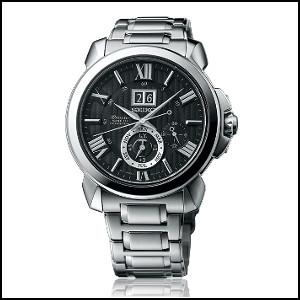 【コスパ高め】 新品 即日発送 SEIKO セイコー Premier プレミア キネティック クオーツ 自動巻き 発電 時計 メンズ 腕時計 SNP141P1