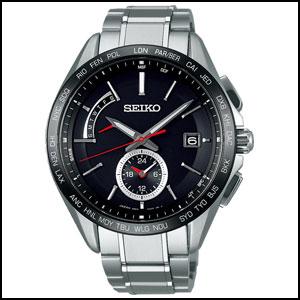 セイコー ブライツ フライトエキスパート ソーラー 電波 時計 メンズ 腕時計 SAGA241