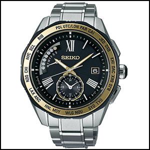 新品 即日発送 セイコー ブライツ ソーラー 電波 時計 メンズ 腕時計 SAGA186