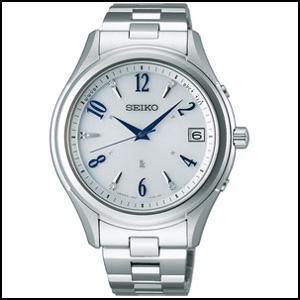 セイコー ルキア エターナルブルー 2017 限定モデル ソーラー 電波 時計 メンズ 腕時計 SSVH017