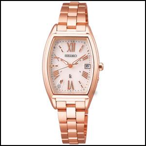 セイコー ルキア レディダイヤ ソーラー 電波 時計 レディース 腕時計 SSVW118