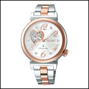 新品 即日発送 セイコー ルキア 自動巻き 手巻き 時計 レディース 腕時計 SSVM022