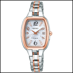 セイコー エクセリーヌ AUSE 限定モデル ソーラー 電波 時計 レディース 腕時計 SWCW138
