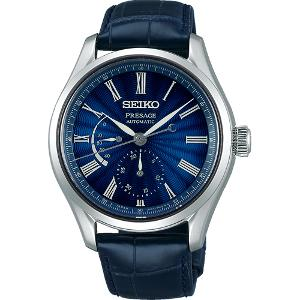 セイコー プレザージュ 七宝限定モデル 自動巻き 手巻き付き 時計 メンズ 腕時計 SARW039