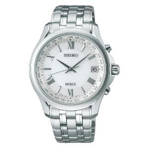 セイコー ドルチェ ソーラー 電波 時計 メンズ 腕時計 SADZ201