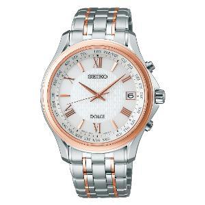 セイコー ドルチェ ソーラー 電波 時計 メンズ 腕時計 SADZ202
