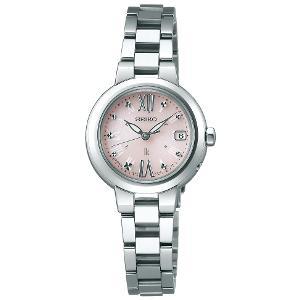 新品 即日発送可 セイコー ルキア ソーラー 電波 時計 レディース 腕時計 SSVW137