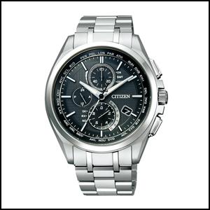 新貨即日發送西鐵城shichizunatessakuronogurafusora電波鐘表人手錶AT8040-57E