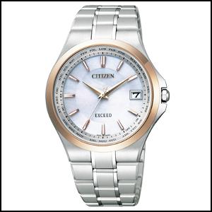 シチズン エクシード ソーラー 電波 時計 メンズ 腕時計 CB1034-50A