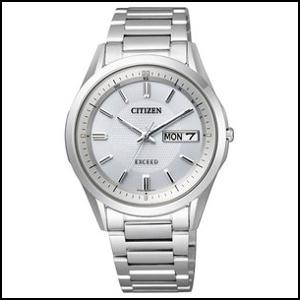 シチズン エクシード ソーラー 電波 時計 メンズ 腕時計 AT6030-51A
