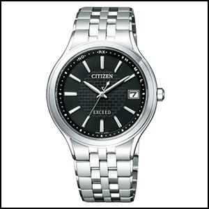 CITIZEN シチズン エクシード ソーラー 電波 時計 メンズ 腕時計 AS7040-59E