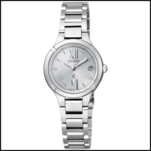 シチズン クロスシー TITANIA LINE MINISOL ソーラー 電波 時計 レディース 腕時計 ES8080-50A