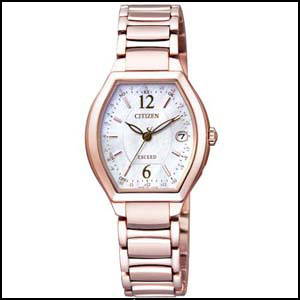 CITIZEN シチズン エクシード ソーラー 電波 時計 レディース 腕時計 ES9344-54W