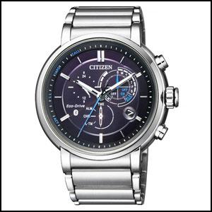 シチズン エコ・ドライブ Bluetooth ソーラー 時計 メンズ 腕時計 BZ1001-86E