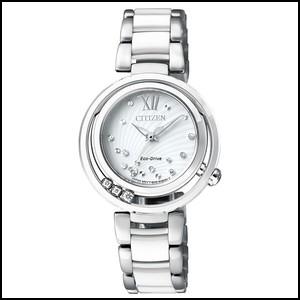 シチズン L ソーラー 時計 レディース 腕時計EM0327-84A