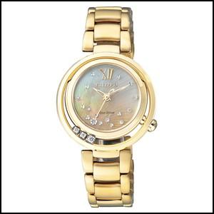 シチズン L ソーラー 時計 レディース 腕時計 EM0328-57P