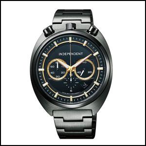 シチズン インディペンデント クオーツ 時計 メンズ 腕時計 BA7-042-51