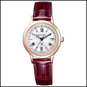 シチズン クロスシー 「サクラピンク」TM 限定モデル ソーラー 電波 時計 レディース 腕時計 EC1144-00W