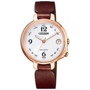 シチズン エコ・ドライブ Bluetooth ソーラー 時計 レディース 腕時計 EE4029-17A