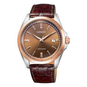 シチズン シチズンコレクション 自動巻き 手巻き 付き 時計メンズ 腕時計 NB1045-16W