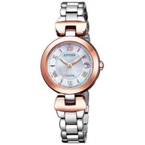 シチズン エクシード TITANIA LINE HAPPY FLIGHT ソーラー 電波 時計 レディース 腕時計 ES9425-54A