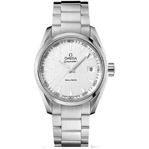 【2018年度担当の涙の在庫処分SALE】オメガ シーマスター アクアテラ クオーツ 時計 メンズ 腕時計 231.10.39.60.02.001