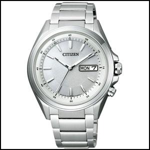 シチズン アテッサ ソーラー 電波 時計 メンズ 腕時計 AT6040-58A