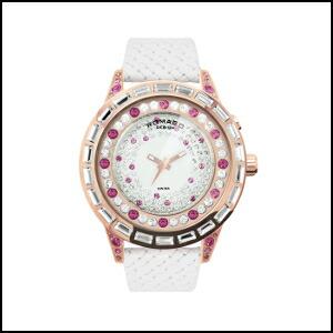 新品 即日発送 ロマゴデザイン ダズルシリーズ スイス メンズ レディース 腕時計 RM006-1477RG-PK