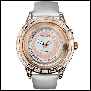 新品 即日発送 ロマゴデザイン ロマンスシリーズ メンズ レディース 腕時計 RM017-0176ST-WH