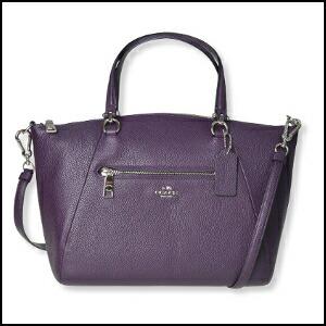 Coach ぺ bulldog leather Prairie Satchell 2WAY shoulder Lady s bag 34340 SVAU be0ace863d