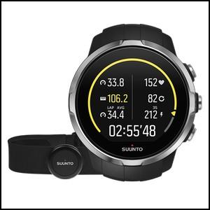 【アクティビティ特集】新品 即日発送 Suunto スント スパルタン スポーツ ブラック ハートレートベルト付き メンズ レディース 腕時計 SS022648000