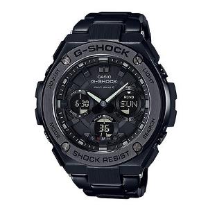 新品 即日発送 カシオ Gショック Gスチール シリーズ ソーラー 電波 時計 メンズ 腕時計GST-W110BD-1BJF